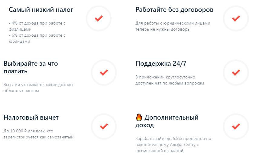 Простая регистрация через приложение, без заполнения бумаг и поездок в банк